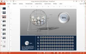 interactive bingo powerpoint template