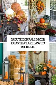 fall decorations for outside fall front porch decorating ideas fill lanterns with pumpkins and