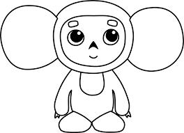 clipart cheburashka