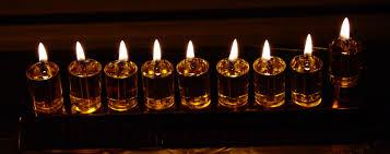 chanukah candles menorah inspired vision