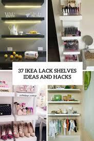 Ikea Ideas For Bedroom 37 Ikea Lack Shelves Ideas And Hacks Digsdigs