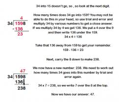 how to do long division worksheets free worksheets library