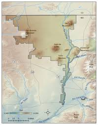 Arizona Strip Map by Best Recreation In New Rio Grande Del Norte National Monument