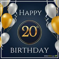 20th Birthday Meme - 20th birthday wishes quotes for their special day happy 20th