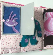 monsters themed quiet book craft learn play
