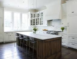 Pictures Of White Kitchen Cabinets by 33 Best Dark Island White Cabinets Images On Pinterest Dream