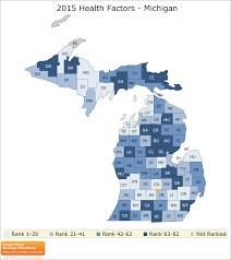 Map Of Counties In Michigan by Michigan Rankings Data County Health Rankings U0026 Roadmaps