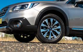 subaru outback offroad wheels 2016 subaru outback 3 6r review video performancedrive
