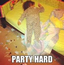 Party Hard Memes - party hard www meme lol com funny gifs pinterest partying
