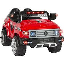 Remote Controlled Lights 12v Mp3 Kids Ride On Truck Car R C Remote Control Led Lights Aux