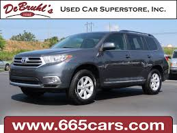 colors for toyota highlander 2013 toyota highlander for sale in asheville