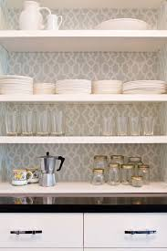 Clever Ways To Customize Kitchen Cabinets With Contact Paper - Inside kitchen cabinets