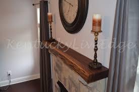 custom mantel live edge mantel hardwood mantel wooden mantel