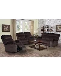 Reclining Sofa Set Don T Miss This Bargain Izabella Chocolate Corduroy 3 Pc