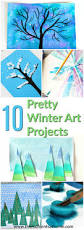 pretty winter art projects for kids the moments at home