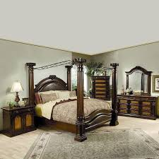 montecito canopy bedroom set coaster furniture furniture cart
