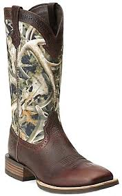 s quickdraw boots ariat quickdraw s brown rowdy with bonz camo