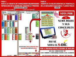 imagenes de numa rojas numa rojas on twitter esta es la chuleta para votar por mi y mis