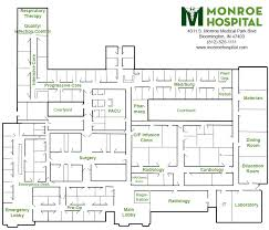 floor plan of hospital hospital map bloomington primary care