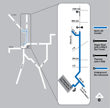 Denver Terminal B Map Rtd Facts And Figures Downtown Express I 25 Hov