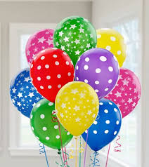 Balloons On Sticks Centerpiece by Birthday Decorations U0026 Supplies Party City