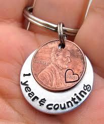 monogrammed anniversary gifts anniversary gift personalized keychain by firedupladieshammer