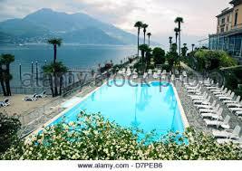 grand hotel in bellagio italy on lake como stock photo royalty
