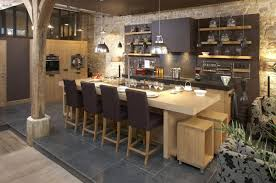 cuisine chaleureuse contemporaine design d intérieur table de cuisine contemporaine chaleureuse