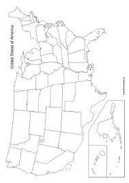 printable united states map blank united states map free printable allfreeprintable com
