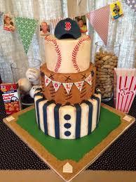 baby shower baseball theme vintage baseball themed baby shower cake cakecentralcom creative