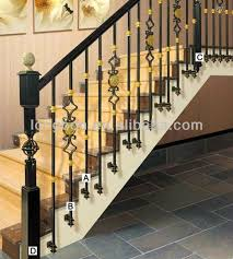 Iron Grill Design For Stairs Top Selling Artistic Iron Stair Handrail Grill Designs View