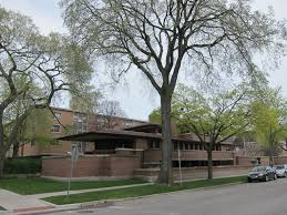 robie house with trees and building misfits u0027 architecture