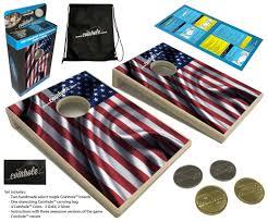 American Flag Awesome American Flag Coinhole Game Set U2013 Coinhole Com