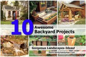 10 awesome backyard projects