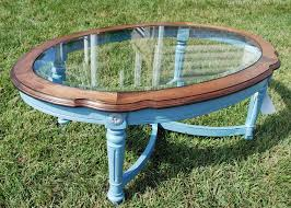Woodworking Plans Oval Coffee Table by A Few Table Tales