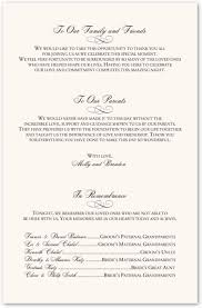 sle of a wedding program wedding program verbiage isure search