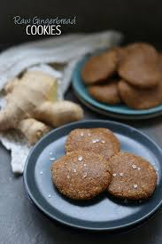 raw gingerbread cookies the healthy maven