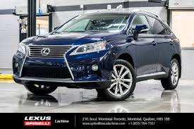 lexus toronto used cars used 2015 lexus rx 350 groupe touring in montreal used inventory