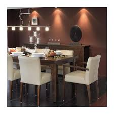 table et chaises salle manger chaise de salle à manger en bois et tissu shanna mobitec 4 pieds