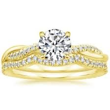 gold bridal sets yellow gold bridal sets wedding ring sets brilliant earth
