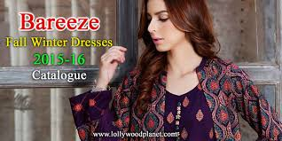 bareeze fall winter collection 2015 2016 catalog with prices