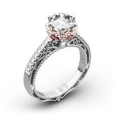 crown wedding rings crown wedding rings verragio afn 5052 4 6 prong crown diamond
