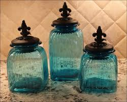 blue kitchen canister kitchen kitchen canisters blue kitchen canister jar pottery jar