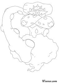 Coloriage Démétéros Pokemon légendaire à imprimer et colorier