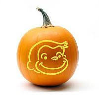 free curious george pumpkin carving pattern u2013 candle making