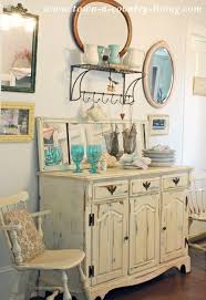 Dining Room Hutches Styles Summer Decorating In A Farmhouse Dining Room Town Country Living