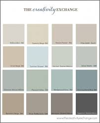 collection of the most popular pinned paint colors on pinterest