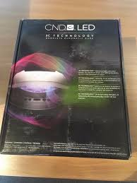 cnd 3c led l cnd nail l brand new for sale for use with shellac and gel nail