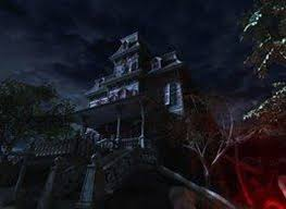 hunting house for halloween haunted house