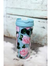 rose parade thermal travel mug ban do bando coffee mug